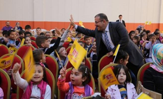Afşin Belediyesi'nden İlköğretim Öğrencilerine Etkinlik