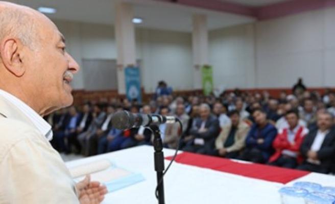 Afşin Belediyesi'nden Kuran Ve Güzel Ahlak Konferansı