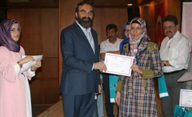 Aile Eğitimi Katılımcılarına Sertifikaları Verildi