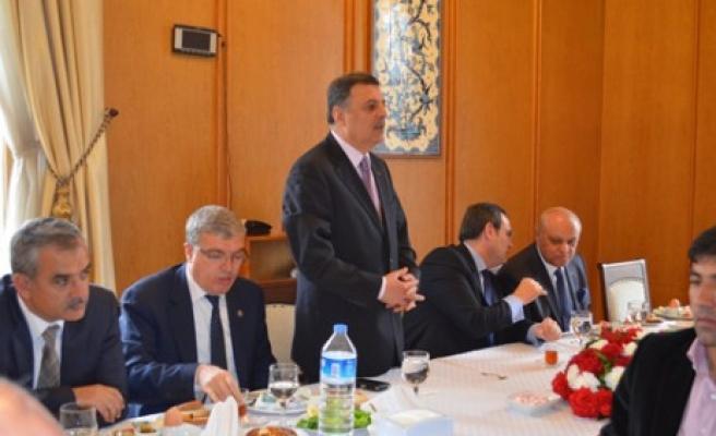 AK Parti İlçe Teşkilatları TBMM'de