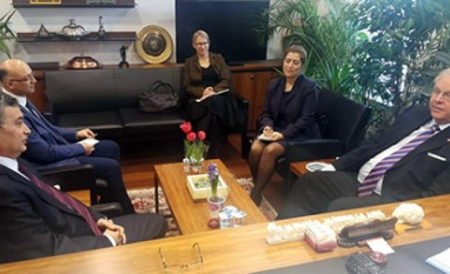 Almanya Ankara Büyükelçisi Güvenç'i Ziyaret Etti