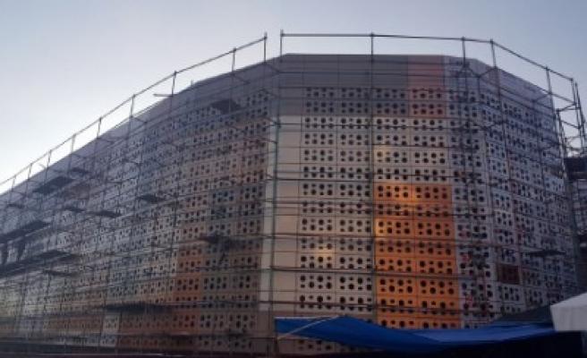 Arasa Otopark'ta Son Rampa Yapılıyor