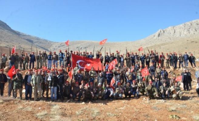 Avcılar, Afrin İçin Gönüllü Oldu