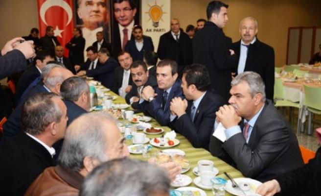 Bakan Ünal, Elbistan İlçe Teşkilatı'nı Ankara'da Ağırladı