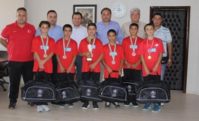 Balkan Judo Şampiyonasında Tiyek'ten Bronz Madalya