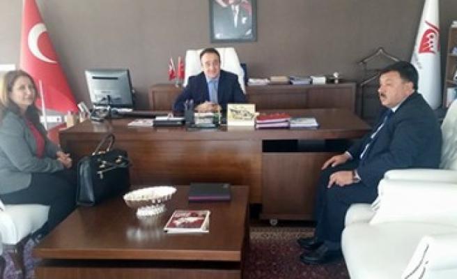 Başkan Çeleğen'den Ankara Çıkarması