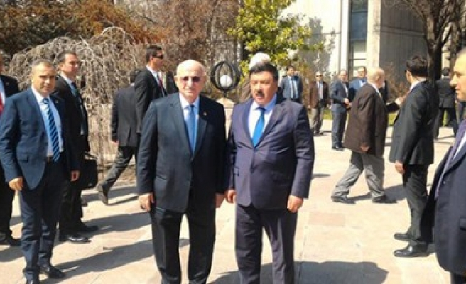 Başkan Çeleğen'den TBMM Başkanı'na Ziyaret
