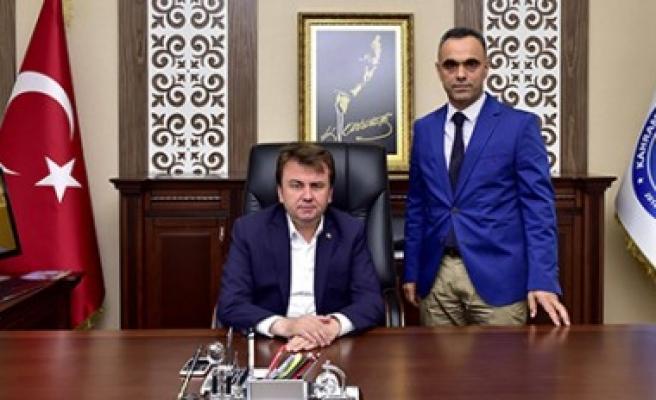 Başkan Erkoç KASKİ Genel Müdürlüğünü Ziyaret Etti