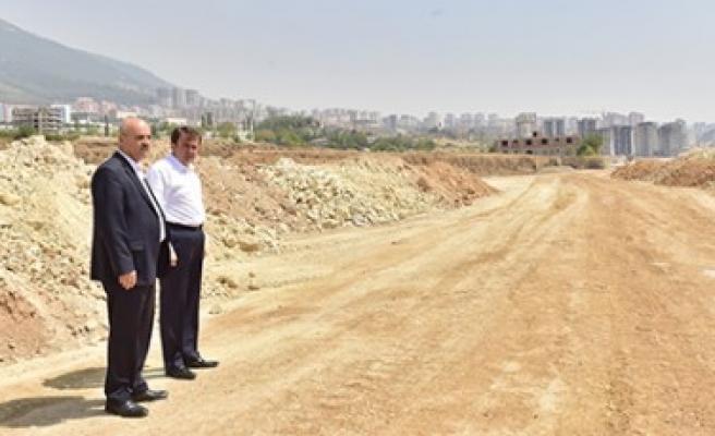 Başkan Erkoç, Kuzey Çevre Yolu Çalışmalarını İnceledi