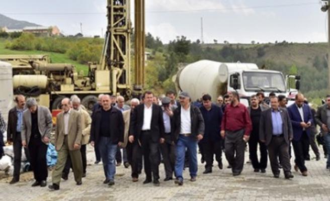 Başkan Erkoç  Ilıca'da İncelemelerde Bulundu