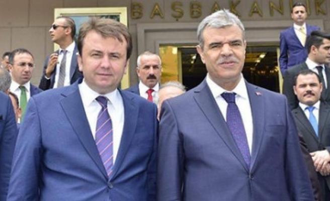 Başkan Erkoç'tan Kaynak'a Hayırlı Olsun Ziyareti