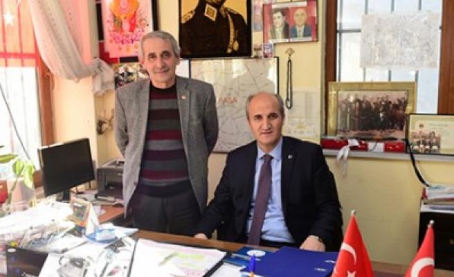 Başkan Okay, Fevzi Paşa'da Muhtarlarla Bir Araya Geldi