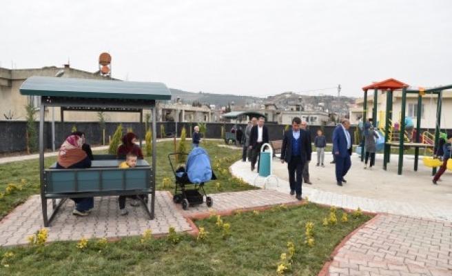 Başkan Okumuş, Türkoğlu'na Üç Adet Yeni Park Daha Kazandırdı
