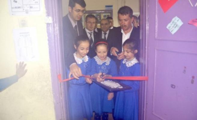 Başkan Okumuş ve Kaymakam Kartal'dan Yeşilyöre'ye Okul