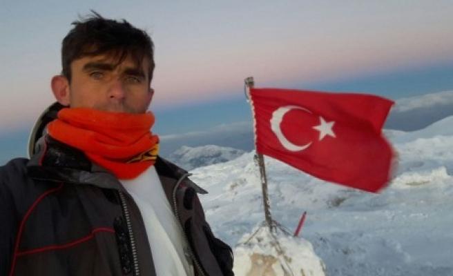Berit Dağı 2018 Kış Tırmanışı ve Bayrak Asma Töreni Yapıldı
