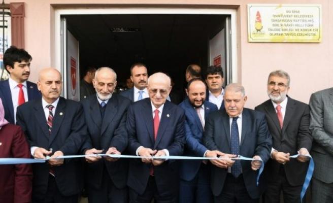 Birlik Vakfı MTTB Konuk Evi Açılışı Yapıldı