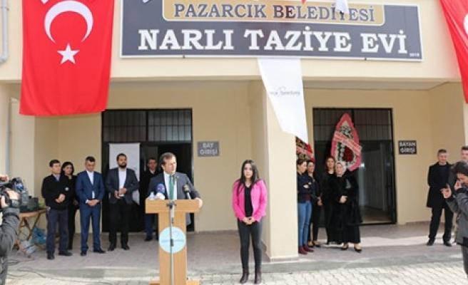 Bölgenin En Büyük Taziye Evi Narlı'da Açıldı