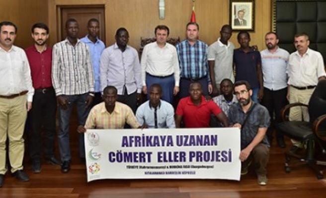 Burkina Faso'lu Öğrenciler Erkoç'u Ziyaret Etti