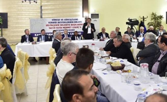 Büyükşehir, Güreş Camiasını Yemekte Buluşturdu