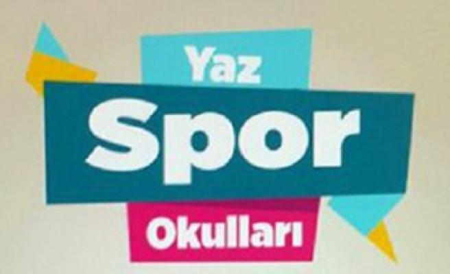 Büyükşehir Yaz Spor Okulları 11 Temmuz'da Açılıyor