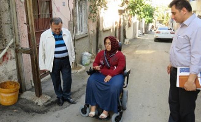 Büyükşehir'den Engellilere Bayram Hediyesi