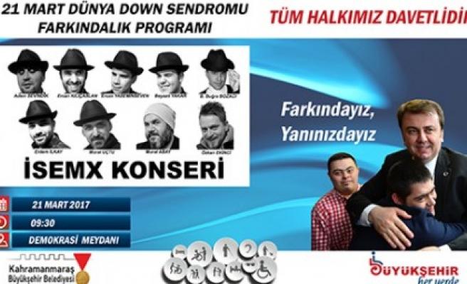 Büyükşehir'den İSEMX Konseri