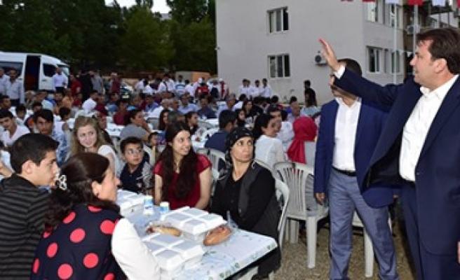 Büyükşehir'den Nurhak'ta İftar Programı