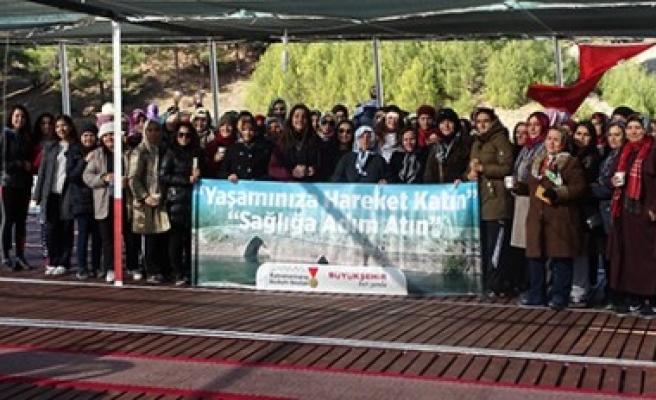 Büyükşehir'in Doğa Yürüyüşünde 1250 Kişi Yürüdü
