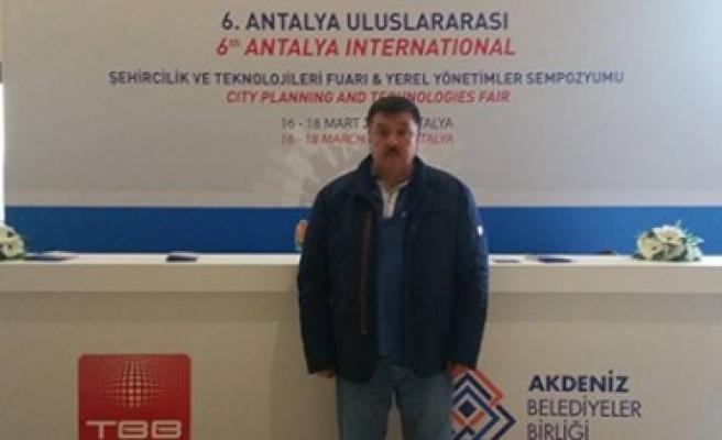 Çeleğen 6. Antalya Şehircilik ve Teknolojik Fuarında