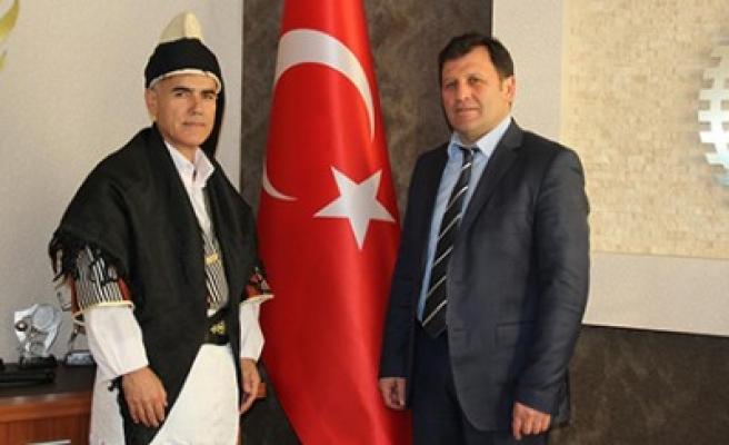 Çete Arguz'dan Kabakcı'ya  Ziyaret