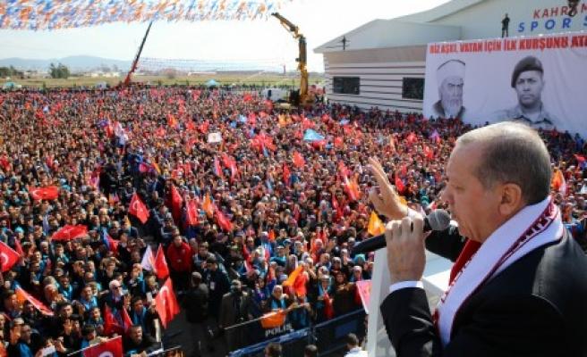 Cumhurbaşkanı Erdoğan; Mehmedimize Saldıranları İnlerinde Boğduk