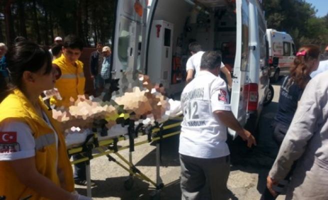 Demir Doğrama Atölyesindeki Patlamada 3 İşçi Yaralandı