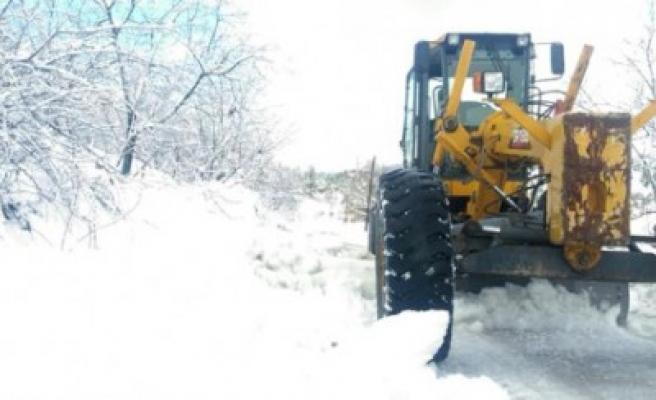 Dulkadiroğlu Belediyesi Karla Mücadele Tedbirlerini Artırdı
