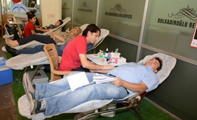 Dulkadiroğlu Belediyesinden Kan Bağışına Destek