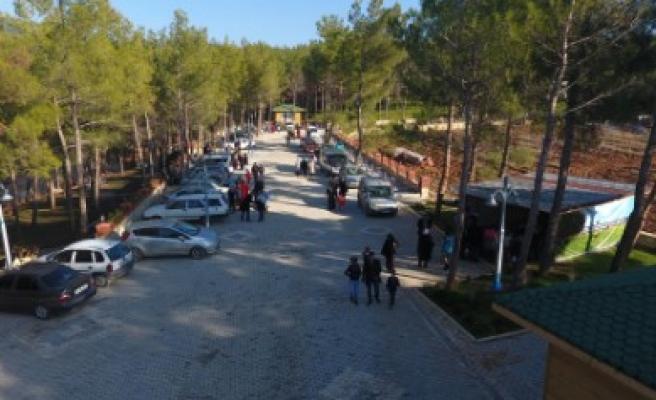 Dulkadiroğlu Mesire Alanı Hafta Sonu Dolup Taştı
