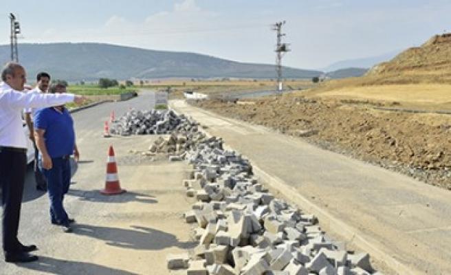 Dulkadiroğlu'nda Kırsal Mahallelere Yatırım Sürüyor
