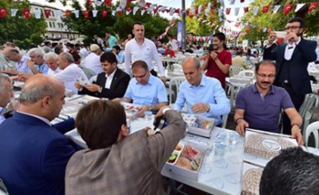 Dulkadiroğlu'ndan Geleneksel Bayram Kahvaltısı