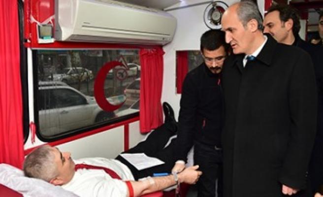 Dulkadiroğlu'ndan Kızılay'ın Kan Bağışına Büyük Destek