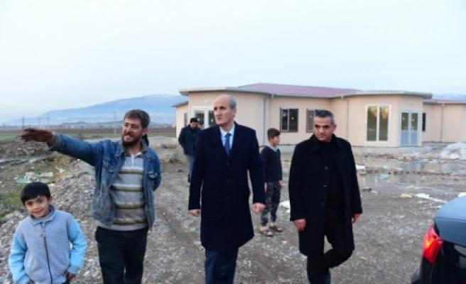 Dulkadiroğlu'ndan Osmanbey'e Sosyal Tesis