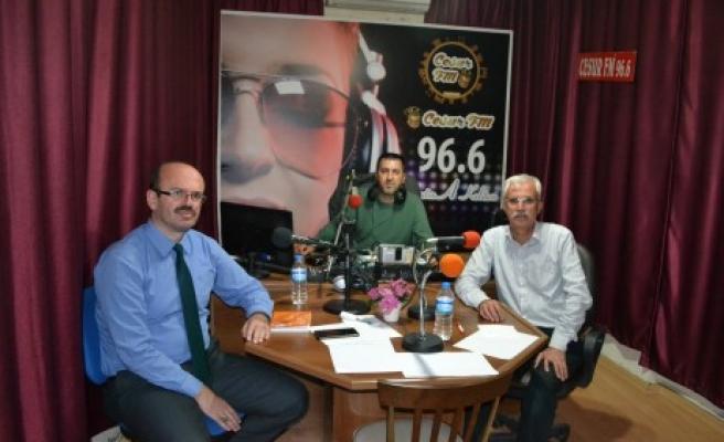 Emiralioğlu, Haftanın Panoraması Programına Konuk Oldu