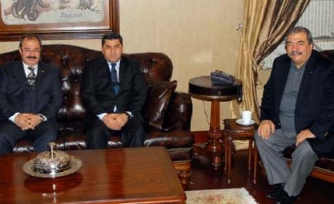 Emniyet Müdürü Gezer'den Sanko'ya Ziyaret
