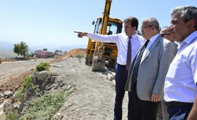 Erkoç, Kentsel Dönüşüm Alanını İnceledi