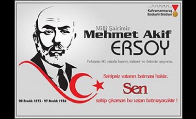 Erkoç; Mehmet Akif Ersoy Yolumuzu Aydınlatmaya Devam Edecektir