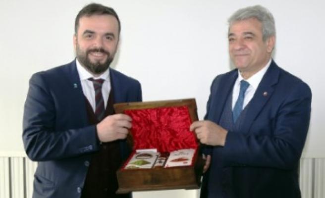 EVSİD Heyeti, Başkan Zabun'u Ziyaret Etti