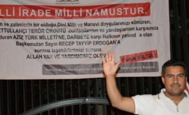 Faruk Bilgili, Nöbeti Ankara'da Tutuyor