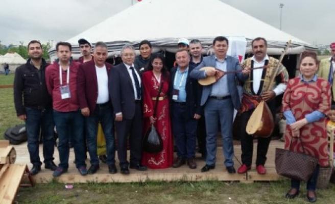 Festivalde Açılan Çadır Misafirleri Ağırlıyor