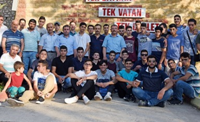 Filistinli Öğrenciler Başkan Aydın'ın Misafiri Oldu