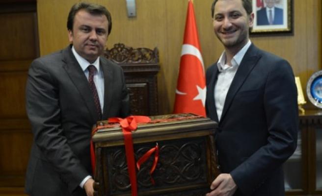 Gençlik Kolları Genel Başkanı Çubukcu'dan Ziyaret