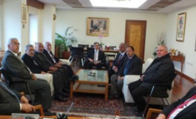 Genel Başkan Kamalak'tan Rektör Karaaslan'a Ziyaret