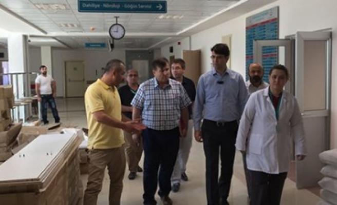 Göksun Devlet Hastanesinin Açılışa Sayılı Günler Kaldı